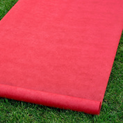 Hortense B Hewitt 30056 Red Blank Aisle Runner
