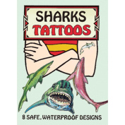 Dover 466724 Dover Publications-Sharks Tattoos