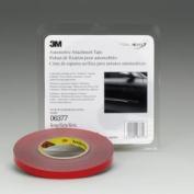 3M MMM6377 Foam Double Sided Tape 1-2 X 20Yd- Grey