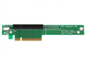 PCI Express Riser Card x8 Left Slot Adapter 1U with Flexible Cable