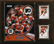 C & I Collectables 1215FLYERS11 NHL 12 X 15 Philadelphia Flyers 2011 Team Plaque