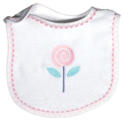 Dee Givens & Co-Raindrops 6059 Flower Ex-small Bib - Pink