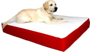 Majestic Pet 788995614814 34x48 Large-Extra Large Orthopedic Double Pet Bed- Red