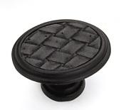 Strategic Brands 12192 1.63 in. Oval Knob-Oil Rubbed Bronze-Black