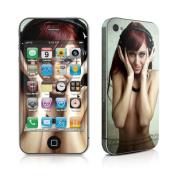 DecalGirl AIP4-HPHONES iPhone 4 Skin - Headphones