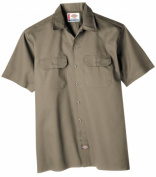 Dickies Large Khaki Mens Short Sleeve Work Shirt WS574KH LRG