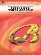 Alfred 00-SOM02006 Scooby-Doo- Where Are You - Music Book