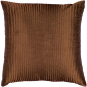 Surya PC1002-2020D 20 in. x 20 in. Down Filled Decorative Pillows - Brown