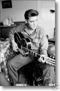 Hot Stuff Enterprise 6880-24x36-MU Elvis Presley US Army Poster