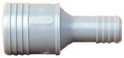 Genova Products 1-.63.5cm . X 2.5cm . Poly Insert Reducing Coupling 350140
