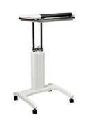 Office Star PSN620 Precision Laptop Stand -White Finish