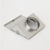 Chimney 57235 EPA335KT Stainless Steel Low Clearance Adapter