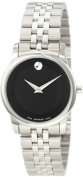 Movado 0606505 Womens Stainless Steel Museum Black Dial