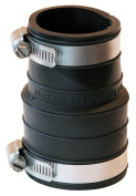 Fernco Inc 1-.50in. X 1-.50in. Rubber Flexible Coupling Repair Fitting P1059-150