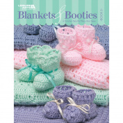 Leisure Arts 394056 Leisure Arts-Blankets & Booties Book 2