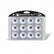 Team Golf MLB Milwaukee Brewers Golf Balls, 12 Pack