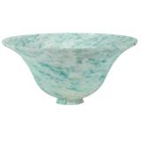 Meyda Tiffany 11173 25.4cm W X 10.2cm H Teal Dapple Bell Shade