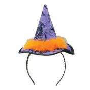 Beistle 00531 Witch Hat Headband