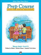 Alfred 00-3094 Basic Piano Prep Course- Theory Book B - Music Book