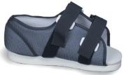 Mabis 530-6046-0123 Blue Mesh Post-Op Shoe - Mens - Large