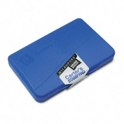 Carter's 21261 Micropore Stamp Pad- 4.25w x 2.75d- Blue