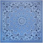 Liberty Mountain 518063 Bandana Paisley Chambray - Blue