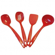Reston Lloyd 81600 Red - 4 Pieces Utensils Set