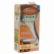 Pacifc Natural Foods 26256 Organic Unsweetened Vanilla Almond Beverage