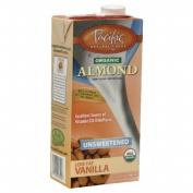 Pacifc Natural Foods 26256 Organic Unsweetened Vanilla Almond Beverage