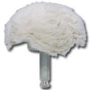Astro Pneumatic AST3059-04 10.2cm 100% Cotton Mushroom Shaped Buff