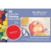 PanPastel Ultra Soft Artist Pastel Set 9ml 20/Pkg-Painting Set