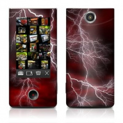 DecalGirl SBLT-APOC-RED Sony Bloggie Touch Skin - Apocalypse Red