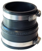 Fernco Inc 3in. X 3in. Rubber Flexible Coupling Repair Fitting P1059-33