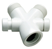 Waxman Consumer Products Group White Shower Diverter Valve 7657520B