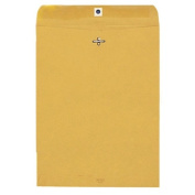 Quality Park Products QUA37814 Gummed Clasp Envelope- 13kg- 13cm .x11-.130cm .- Kraft