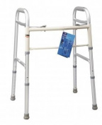 Carex Health Brands A84700 Dual Paddle Adult Folding Walker