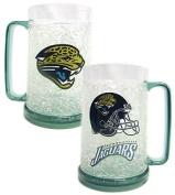 Duck House Jacksonville Jaguars NFL Crystal Freezer Mug
