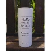 Honeybee Gardens 0364182 Mens Deodorant Powder Bay Rum - 4 oz