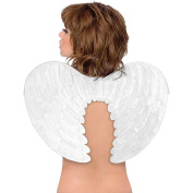 White Angel Wings Adult Halloween Accessory