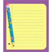 Trend Enterprises TEPT72029 Note Paper Note Pad- 13cm .x13cm .- 50 sheets