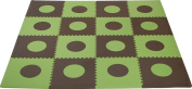 Sleeping Partners cpmsev418 Tadpoles Playmat Set Green/Brown
