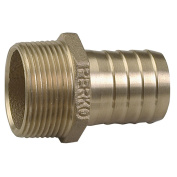 Perko 2.5cm - 0.6cm Pipe to Hose Adapter Straight Bronze MADE IN THE USA