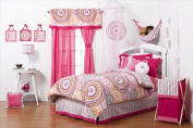 One Grace Place 10-27102 Sophia Lolita Infant 4 Piece Crib Bedding Set