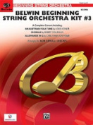 Alfred 00-26622 Belwin Beginning String Orchestra Kit no.3 - Music Book