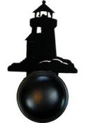 Village Wrought Iron DKP-10 Lighthouse Door Knob