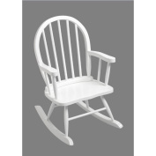 Giftmark 3600W Windsor Childrens Rocking Chair White