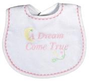 Dee Givens & Co-Raindrops 6847 A Dream Come True Small Bib - Pink