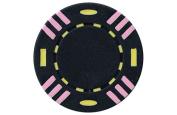 JP Commerce 25-TSTRIPED 25pc 13.5g Triple Striped Poker Chips