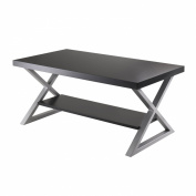 Winsome Trading 93439 Korsa Coffee Table with Black Finish