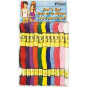 Prism Six-Strand Floss Pack 8 Metres 36/Pkg-Surf's Up